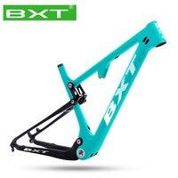 Full Suspension Carbon Mountain Bike Frame bicicleta 29 Boost 142/148mm Softtail Frame 29er S/M/L/XL Shock Bicycle Frame