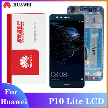 Tela original para huawei p10 lite display lcd digitador assembléia toque aplicar tohuawei p10 lite display para lx1/lx1a