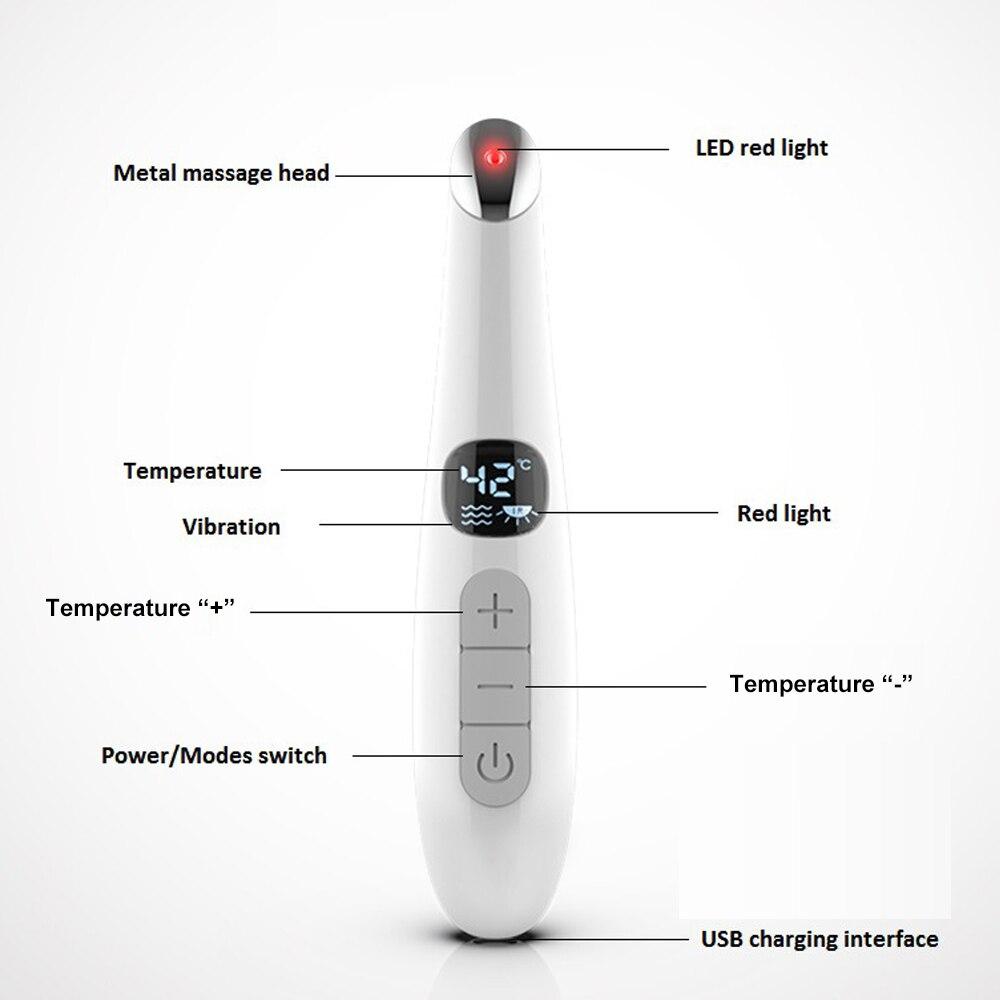 dispositivo de massagem quente anti rugas anti