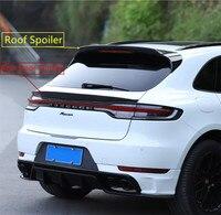 Carbon Fiber Spoiler For Porsche Macan 2018 2019 2020 High Quality Wing Lip Roof Rear Door Spoilers