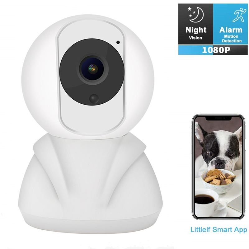 HD 1080P Baby Monitor Cloud Wireless IP Camera Wifi Camera Intelligent Auto Tracking Of Home Security Surveillance VCR CCTV Cam