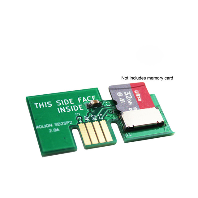 Replacement Micro SD Card Adapter TF Card Reader for NGC SD2SP2 SDLoad SDL Adapter Professional 2
