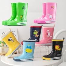 Shoes Rain-Boots Rubber Dinosaur Girl Waterproof Baby Kids Fashion Children Non-Slip