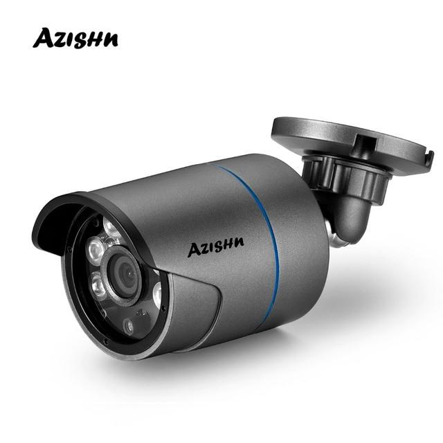H.265 โลหะ IP กล้อง 25FPS 3MP 1/2. 8 SONY IMX307 SENSOR 6IR ONVIF Motion Detection IP66 Outdoor XMEYE กล้องวงจรปิดกล้อง 960P 720P
