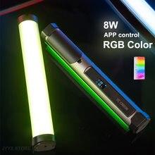YC Onion Energy Tube 8W Handheld RGB LED Light Tube APP Control Magnetic Photography Light Stick Soft light