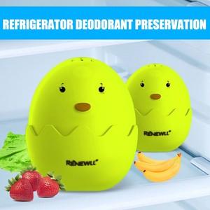 Refrigerator Deodorant Box Eggs Shape Refrigerator color Kitchen Deodorizer Odor Eliminator Egg Air Purifier Fishy Musty|Active Carbon Bags & Boxes| |  -