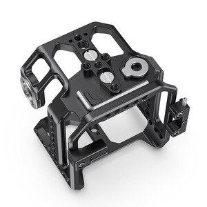 Image 3 - SmallRig Камера клетка для Z CAM E2 S6/F6/F8 Корпус для цифровой зеркальной камеры с рельс NATO/интегрированный ARRI Rosette/HDMI & USB C хомут для кабеля реечная оснастка корзины 2423