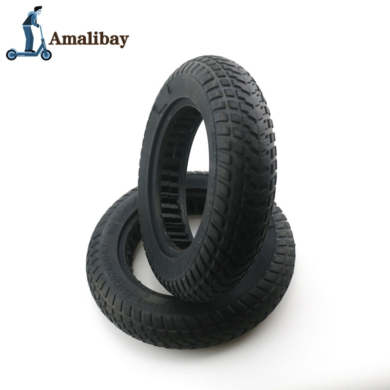 10 Inch Electric Scooter Tire For Xiaomi M365 10 X 2/10 X 2.5 Solid Tire Damping Tire Rubber Wheels Tyres For M365 M365 Pro