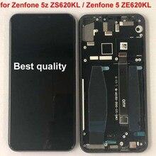 Для Asus Zenfone 5z ZS620KL ЖК-дисплей сенсорный экран для Zenfone 5 ZE620KL дигитайзер сборка Замена+ рамка