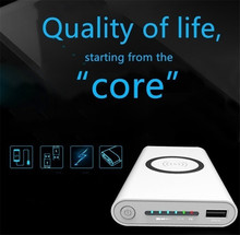 Power Bank Qi standard 10000 mA wireless charging mobile power  treasure portable powerbank for iphone X