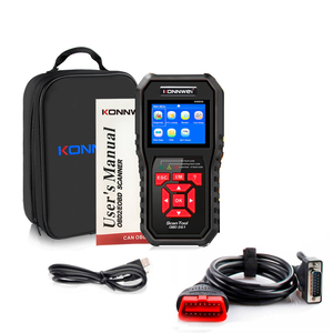 Image 5 - Professional OBD2 Scanner KW850 Code Reader Vehicle Engine Diagnostic EOBD Scan Tool for all OBDII &CAN Protocol Cars Since 1996
