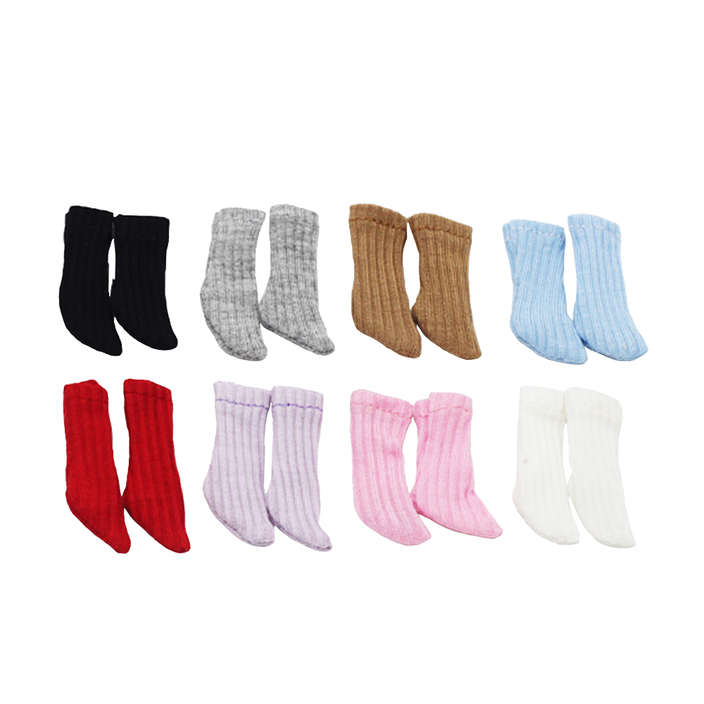 1 пара симпатичных коротких носков для кукол 1/6 для Blyth Azone OB11 сургуч холала 1/12 bjd аксессуары для кукол