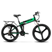 Electric bike 26inch Aluminum Fold electric Bicycle 400W Powerful bike 36V 10 8AH Lithium Battery Snow