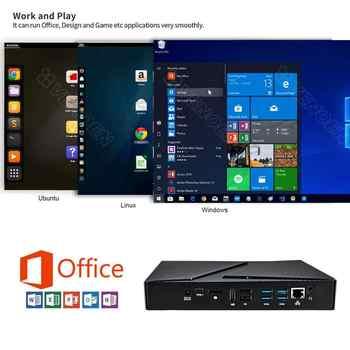 New Exquisite Design Mini PC Intel i7 9750H 6 Core 2*DDR4 64GB M.2 Nvidia GTX1650 4G Computer Windows 10 4K DP HDMI USB-C WiFi
