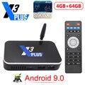 ТВ-приставка X3 PLUS Amlogic S905X3 Android 9,0 2 ГБ 4 ГБ DDR4 16 ГБ 32 ГБ 64 Гб ROM 2,4G 5G WiFi 1000 м LAN Bluetooth 4K HD X3 CUBE X3 PRO