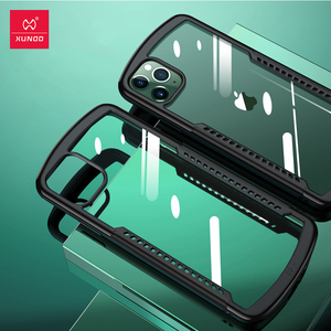 Image 2 - Shockproof Case For iPhone 11 12  Pro Max X 7 XR Case Xundd  Airbag Cover Transparent Protective Case  Screen Protector Glass