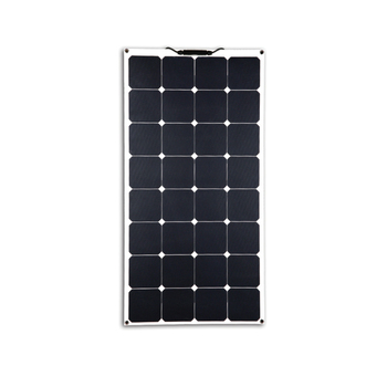 Best quality 80w semi flexible solar panel sunpower cells making