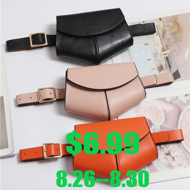 Waist-Belt-Bag Fanny-Pack Shoulder-Bags Disco Serpentine Small Women New-Fashion Ladies