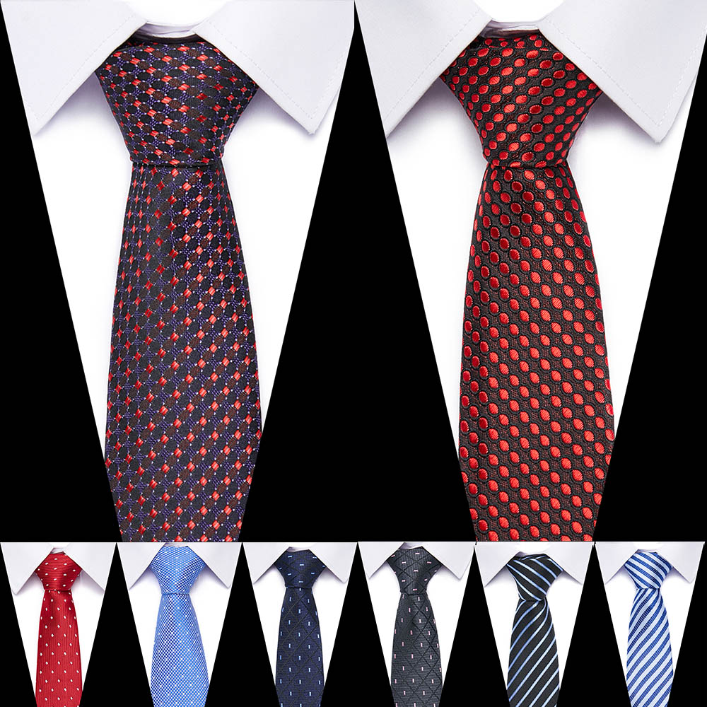 New Mens Tie 100% Silk 7.5 Cm Formal Necktie Stripe  Ties For Man Business Wedding Party