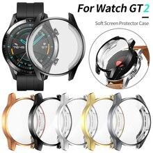 Защитная крышка для huawei Watch GT 2 46 мм чехол GT2 Мягкий ТПУ устойчивый к царапинам корпус легкий тонкий бампер аксессуары
