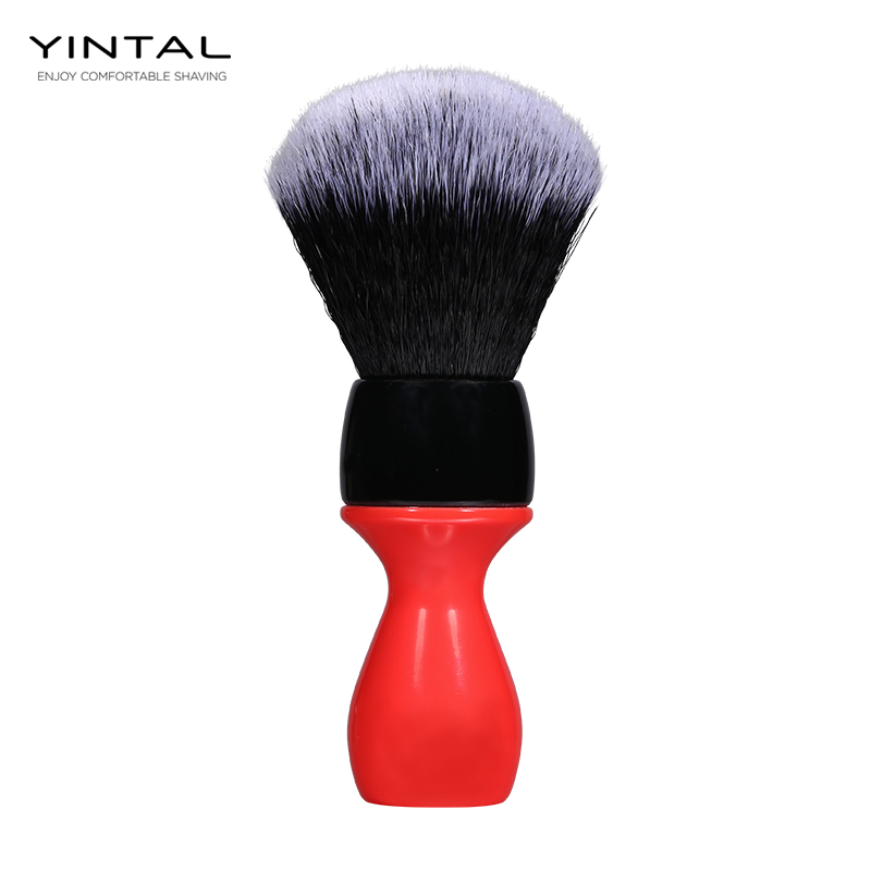 shaving Brush Synthetic Hair Men's Shaving Brush Barber Salon Men Facial Beard Cleaning Appliance Shave Tool Razor beard brush