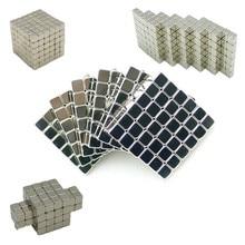216 pièces/ensemble 3mm aimant magique blocs magnétiques boules néo perles construction jouets PUZZLE
