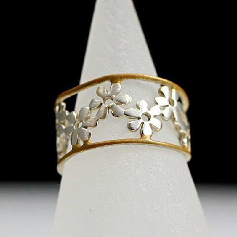 Hoa Hướng Dương Cúc Mở Đầu Có Thể Điều Chỉnh Vòng Tinh Tế Dễ Thương Daisy Vòng Hoa Nữ Trang Trí