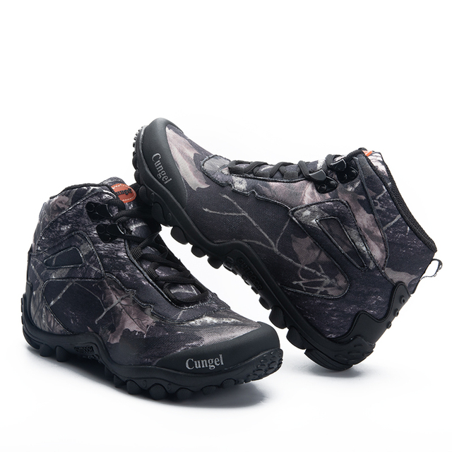 Winter Waterproof Tactical Boots Men Big Mountain Hiking Boots Outdoor Combat Shoes Trekking Sneakers Man Hiking Hunting Boots 6