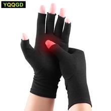 1 para rękawice kompresyjne zapalenie stawów łagodzi objawy zapalenia stawów choroba Raynauds tunel nadgarstka zapalenie stawów ulga w bólu dla kobiet mężczyzn tanie tanio YQQGD CN (pochodzenie) Materiał kompozytowy A02061 Zwolnić Ból Od Choroby