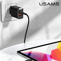 Mobile Phone Charger For iPhone 12 Pro Max iPad Samsung Xiaomi Huawei Quick Charge QC 3.0 20W PD 3.0 Fast Charging EU Plug Adapter Wall USB Charger