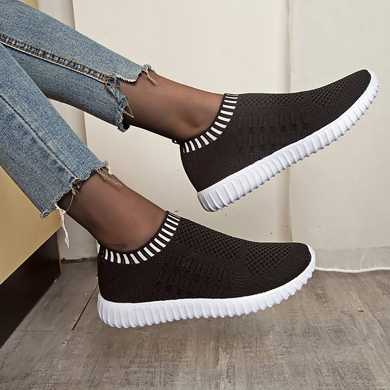 Women's Sock Sneakers Sports Shoes Woman Slip-ons Mesh Breathable Female Tennis Soft Summer Shoes Trainers Footwear 2020 New