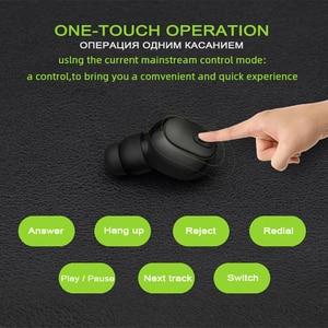 Image 5 - M & J Mini iş kablosuz bluetooth kulaklık taşınabilir Handsfree kulaklık spor sürücü kulaklık için Mic ile Xiaomi Iphone