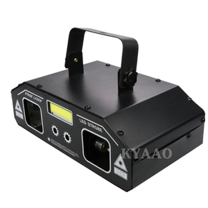 Image 3 - DJ stage laser light 2019 newest 2in1 strobe laser lighting disco home party holiday strobe projector