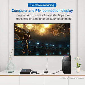 Image 4 - HDMI Splitter 4K 1080P Switch Bi Direction 1x2/2x1 Adapter HDMI Switcher 2 in 1 out for PS4/3 TV Box Nitendo Switch