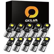 OXILAM 10x T10 W5W LED Canbus 194 168 Auto Luci Interne Per Il VW Passat B6 B8 B5 B7 Golf 4 6 MK7 MK6 MK3 T5 T6 Auto HA CONDOTTO Le Lampadine 12V