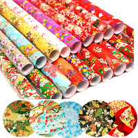 42x58cm Big Size Origami Japanese Paper Chiyogami Wrapping Gift Craft Paper DIY Creative Art Paper Doll Box Decoration