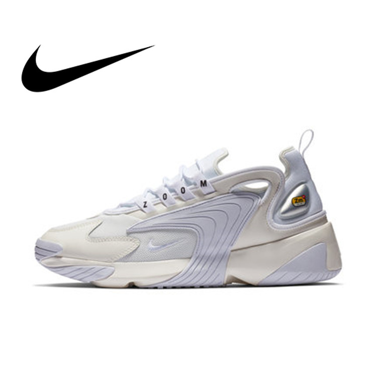 Nike Zoom 2K WMNS Men Running Shoes New Pattern Restore Ancient Ways Dad Shoes Motion Comfortable Sneakers AO0269-101