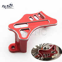 CNC Motorräder Hinten Bremsscheibe Sattel Wache Schutz Für Honda CR 125 250 CRF 125 250 450 250X 450X CRF250R CRF250X CRF450R