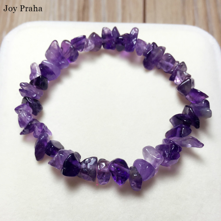 Natural Fantasy Amethyst Bracelet / Help Sleep Crystal Bracelet Jewelry / Wholesale Dropshipping