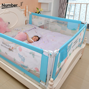 Image 1 - Baby Bed Fence Home Safety Gate Products child Care Barrier for beds Crib Rails Security Fencing Children Guardrail Kids Playpen