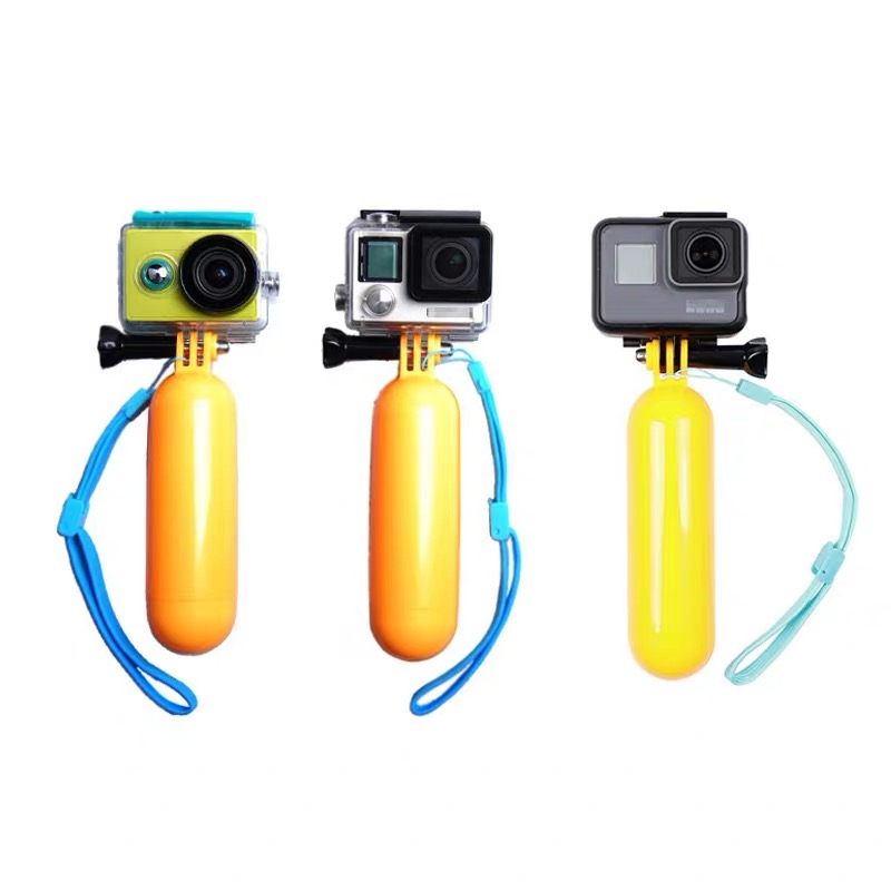Floating Hand Grip Handle Mount Float accessories for Go Pro Floaty GoPro Hero 9 8 7 6  Yi 4K Eken SJCAM Osmo Action Camera-1
