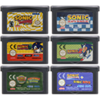 32 Bit Video Game Cartridge Console Card for Nintendo GBA Sonicc Advance English Language Edition