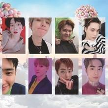 8 шт./компл. альбом KPOP EXO самодельные бумажные карты фото плакат в виде карты HD фотостудии игрушек, для подарка, для фанатов