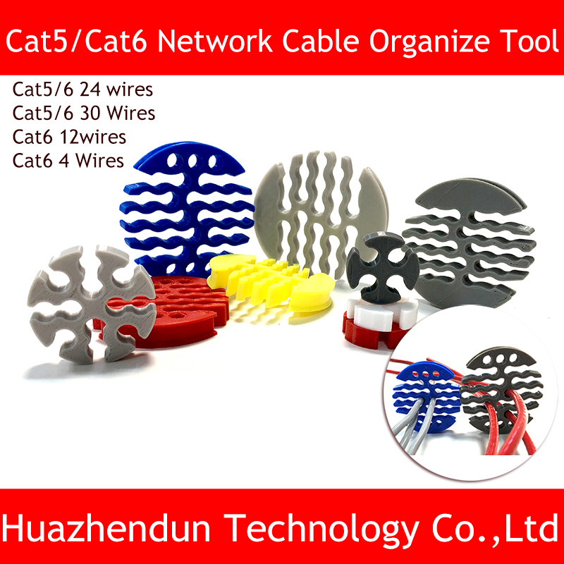 NEW Category5 /category 6 Network Cable  Comb Machine Wire Harness Arrangement Tidy Tools For Computer Room 4/12/24/30 Wires