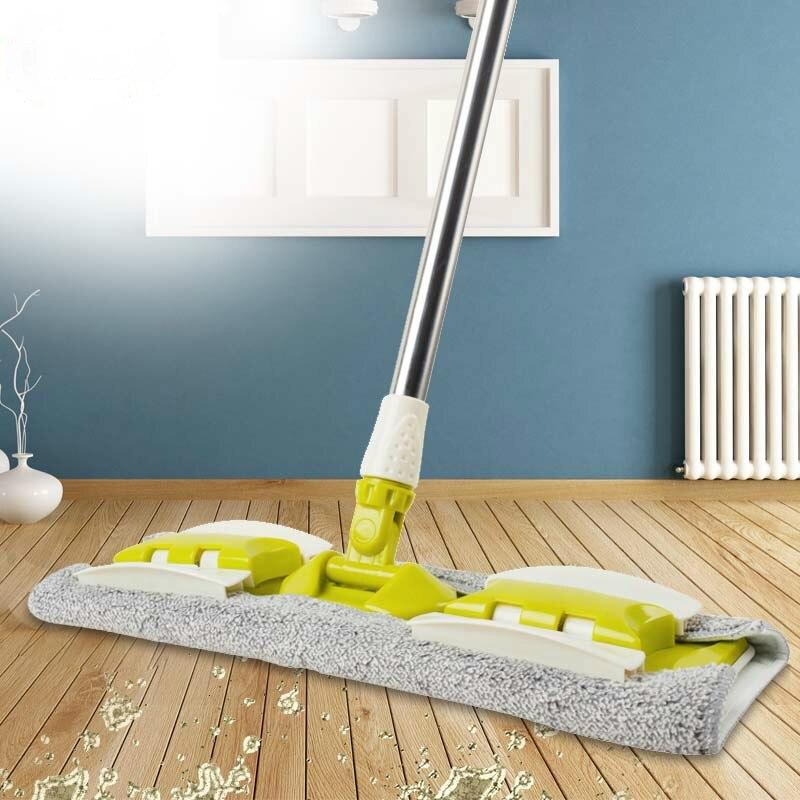 8 Kinds Of Floor Mop Reusable Microfiber Pads 360 Degree Manual Mop Home Kitchen Laminate Wood Ceramic Tiles Floor Cleaning Tool