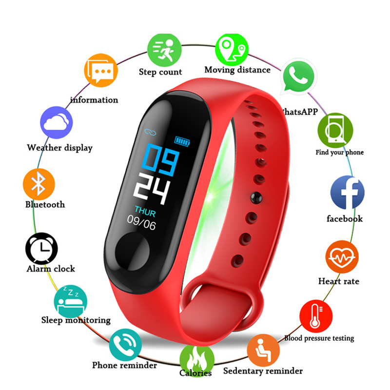 2020 New Couple Watches Men Women Sport Bracelet Bluetooth  Camera Heart Rate Blood Pressure Sleep Monitor Pedometer Band Reloj