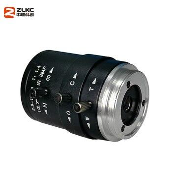 New CS-Mount FA Lens 3.0 Megapixel 2.8-12mm Varifocal  Manual Iris Lens IR Function Security  Camera Lens 1