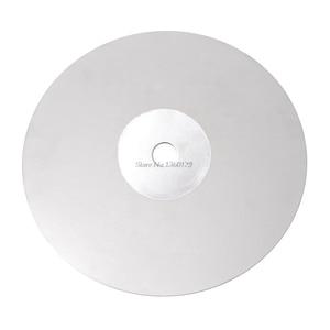 Disco de polimento para joias, 6 Polegada grit 80-3000 diamante revestido lap plana roda de jóias disco de polimento