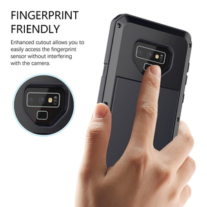 Image 3 - Volledige Beschermende Luxe Armor Heavy Duty Aluminium Metal Phone Case, voor Samsung Note 9 8 5 4 3 Galaxy S 5 6 7 7e 8 9 10 E Plus
