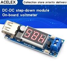 Chargeur USB cc 4.5-40V à 5V 2A, convertisseur abaisseur Buck avec Module de voltmètre, faible consommation d'énergie, Protection automatique